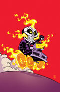 All-New Ghost Rider Vol 1 1 Baby Variant Textless
