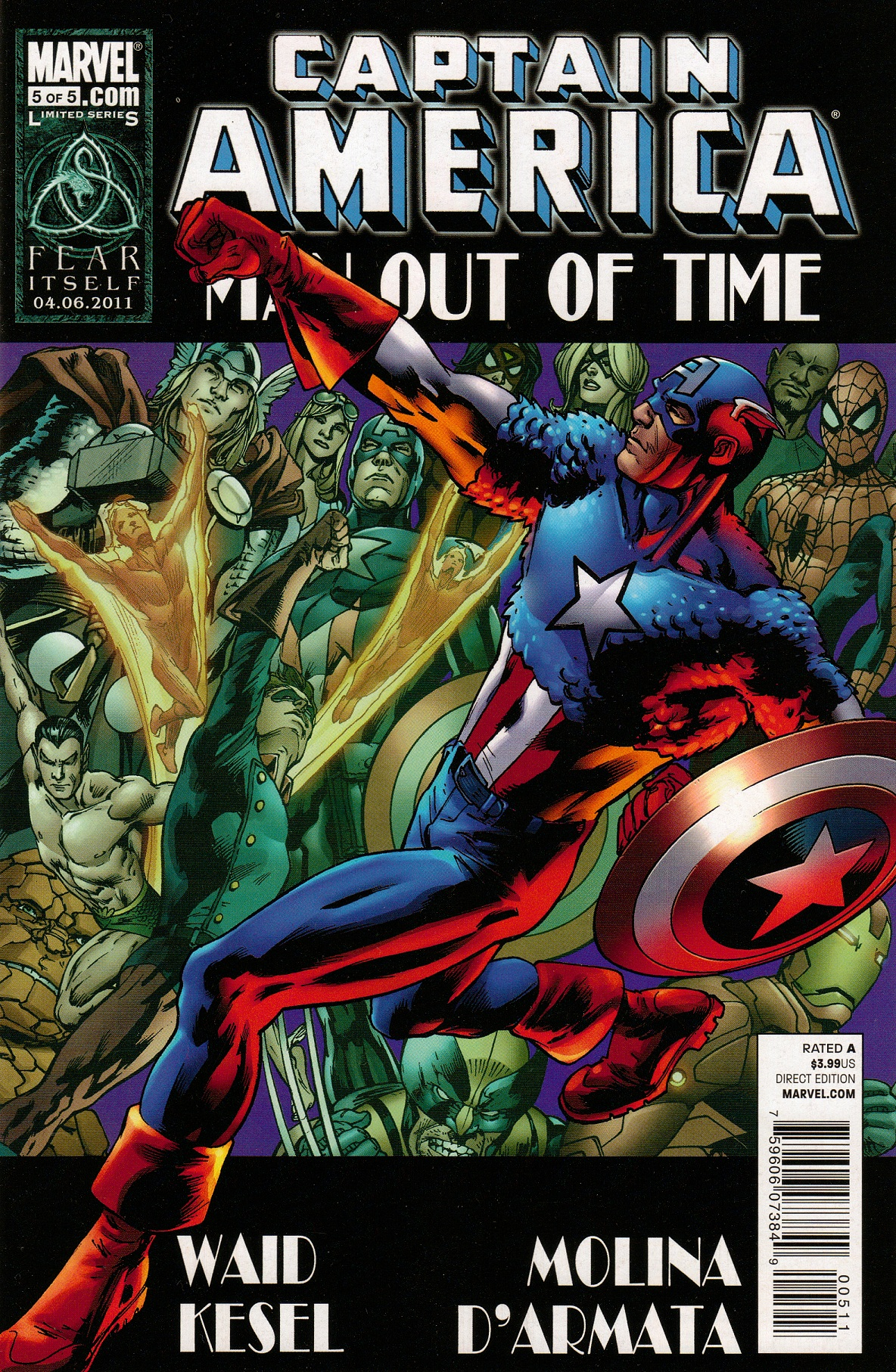 Captain America: Man Out of Time Vol 1 5