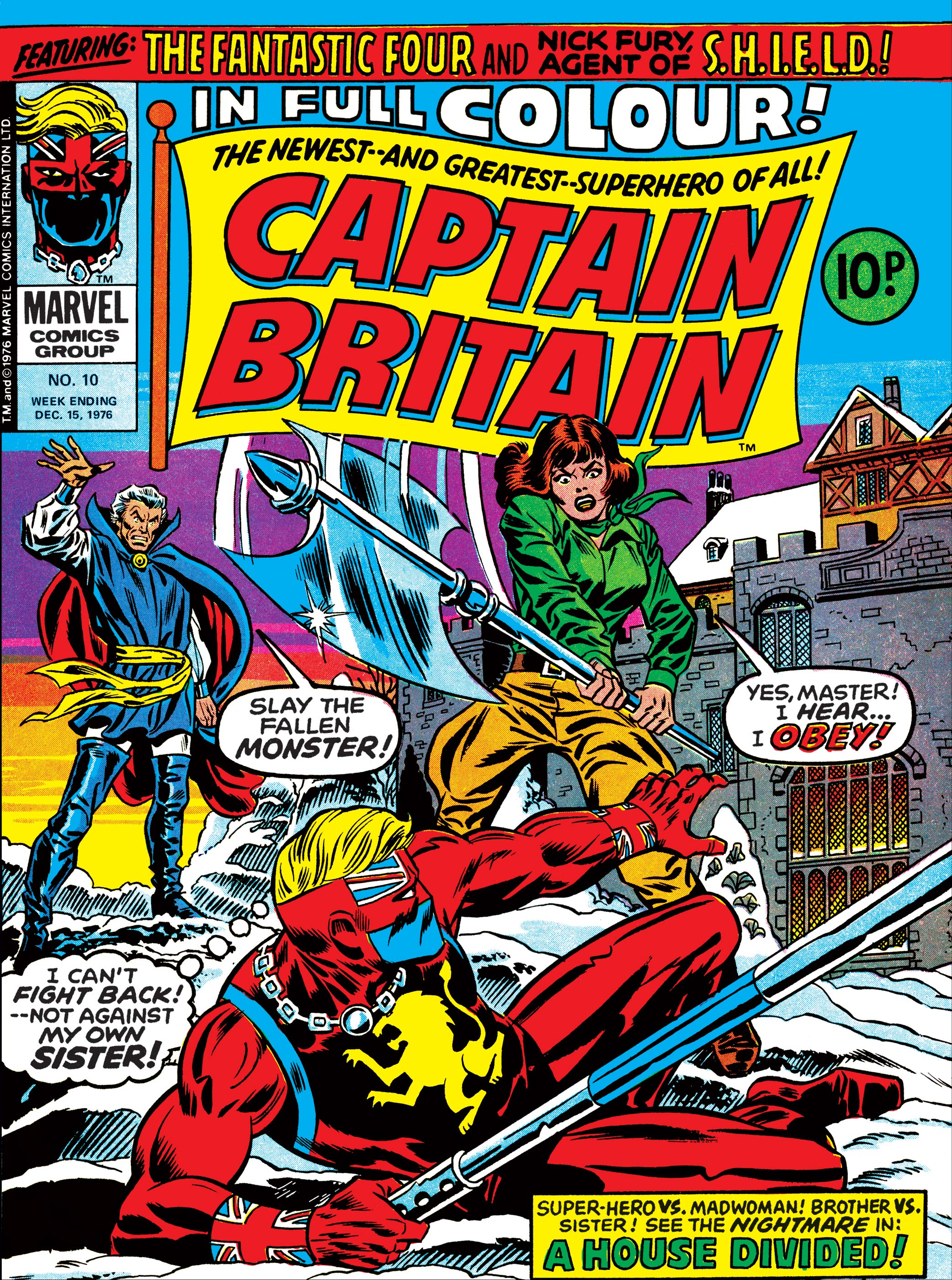 Captain Britain Vol 1 10