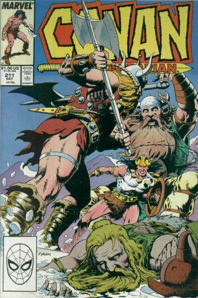 Conan the Barbarian Vol 1 211