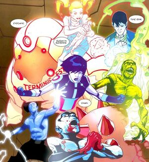 David Haller (Earth-616) showing other sub personalities from X-Men Legacy Vol 1 249 001.jpg