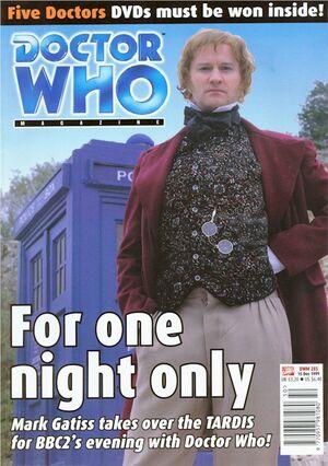 Doctor Who Magazine Vol 1 285.jpg