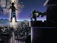 Doomstadt from Fantastic Four Vol 6 5 001