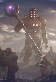 Eson (Earth-199999) and Power Gem from Guardians of the Galaxy (film) 001.jpg