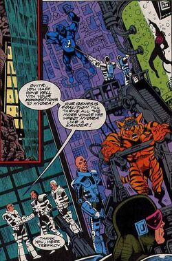 Genesis Coalition (Earth-616) from Silver Sable and the Wild Pack Vol 1 8 0001.jpg