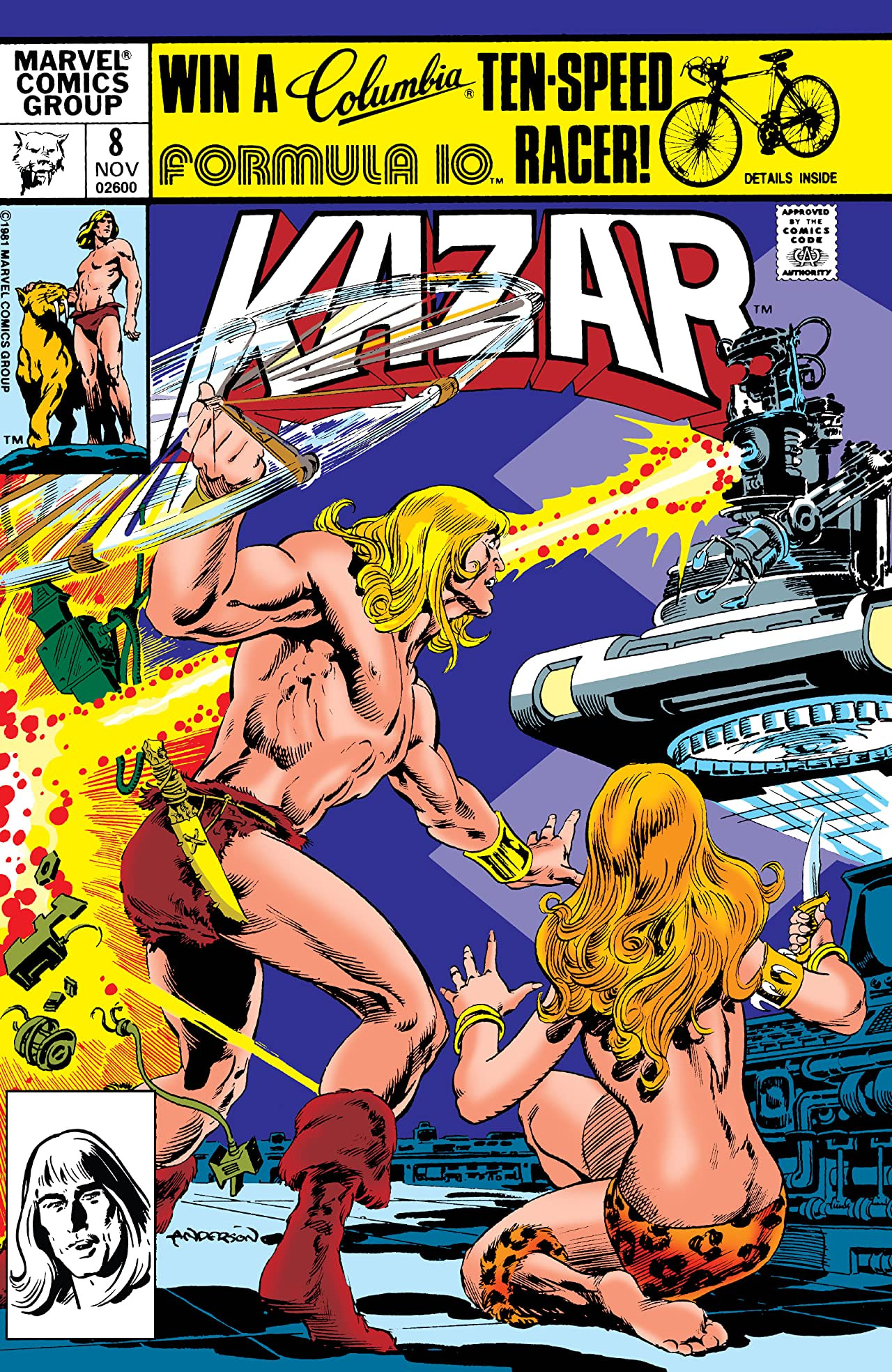 Ka-Zar the Savage Vol 1 8