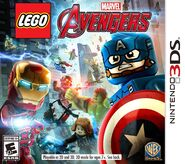 LEGO Marvel's Avengers box art portable