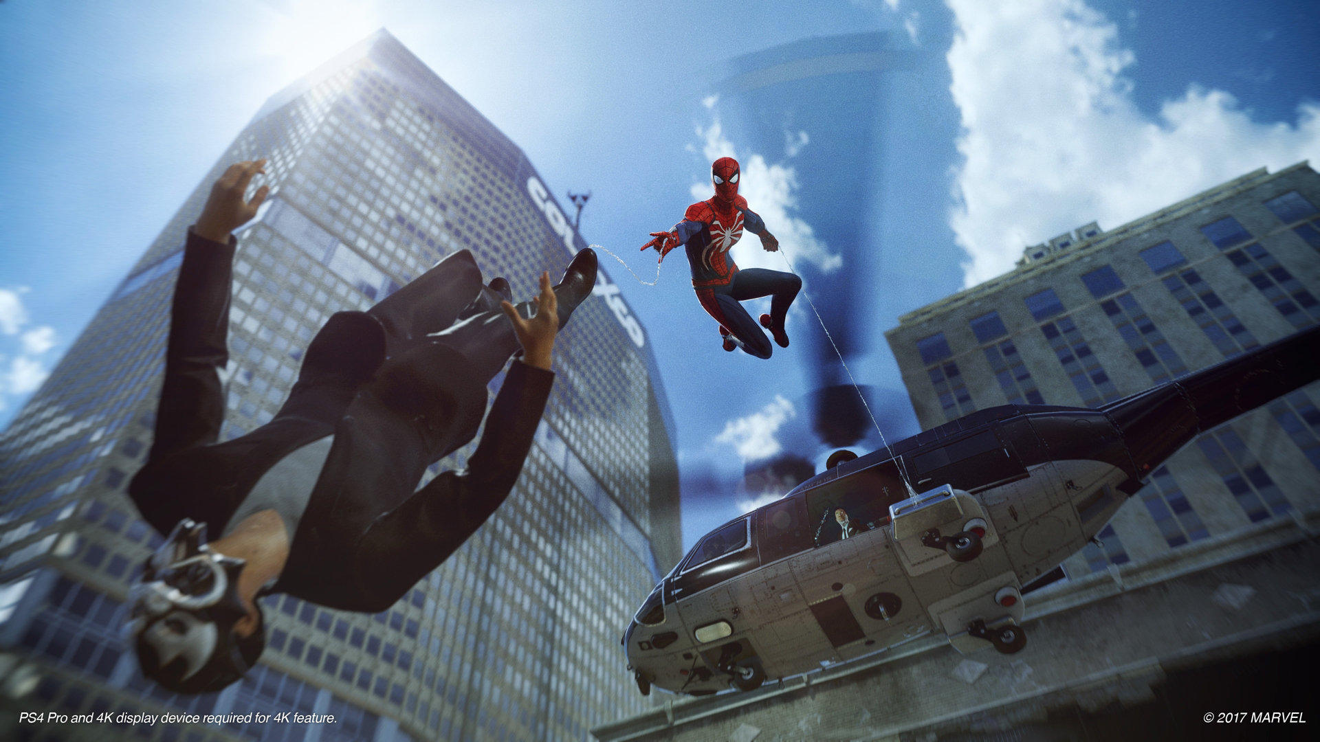 Peter Parker (Earth-1048) and Demons (Earth-1048) from Marvel's Spider-Man (video game) 0002.jpg