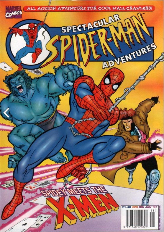 Spectacular Spider-Man (UK) Vol 1 23
