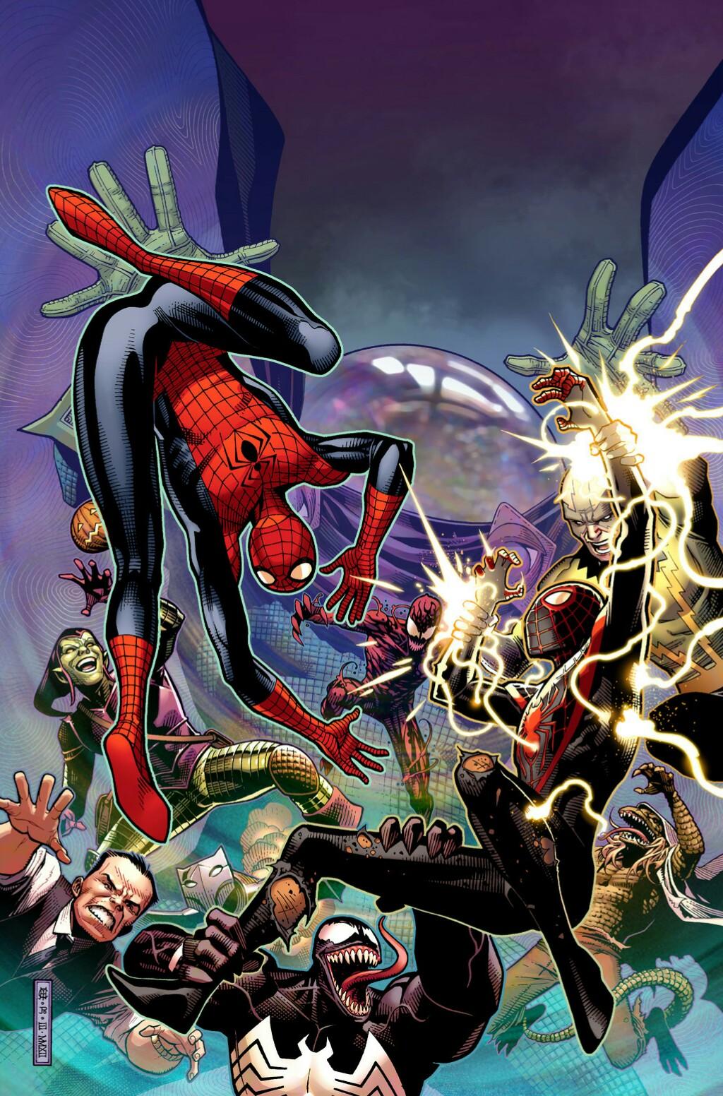 Spider-Men Vol 1 3 Textless.jpg