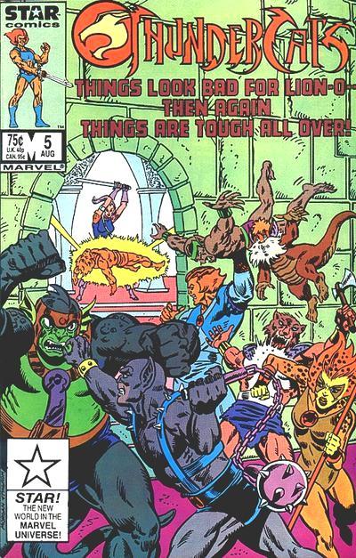 ThunderCats Vol 1 5