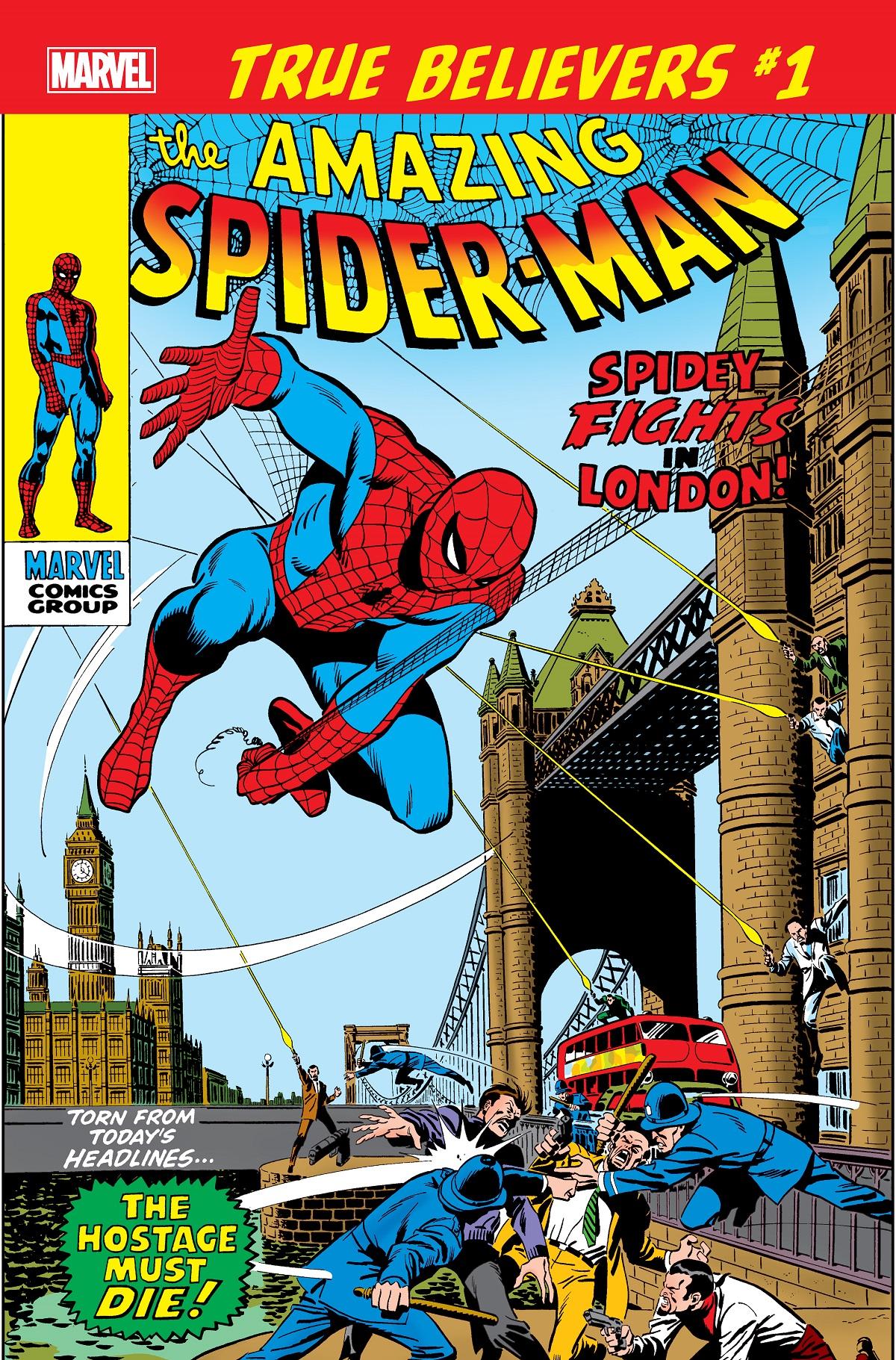 True Believers: Spider-Man - Spidey Fights in London Vol 1 1