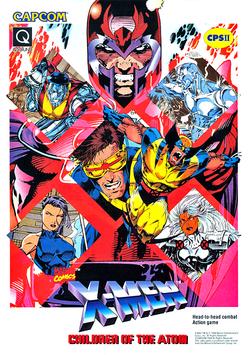 X-Men Children of the Atom (arcade game) Flyer.png