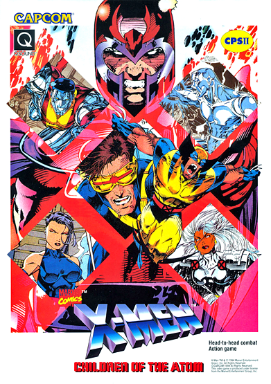 X-Men: Children of the Atom (video game)