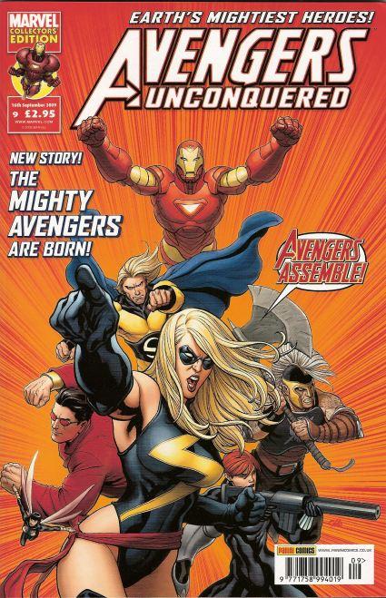 Avengers Unconquered Vol 1 9