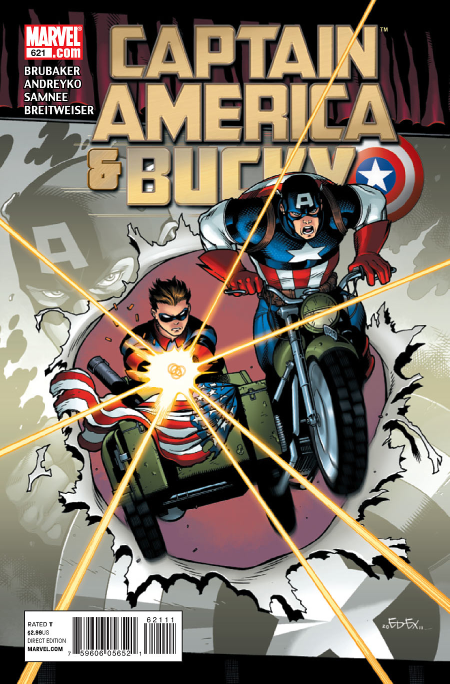 Captain America and Bucky Vol 1 621