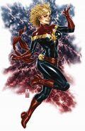 Captain Marvel Vol 10 1 Brooks Virgin Variant