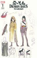 Demon Days Mariko Vol 1 1 Design Variant