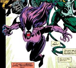 Leslie Gesneria (Earth-616) from Venom Separation Anxiety Vol 1 1 0001.jpg