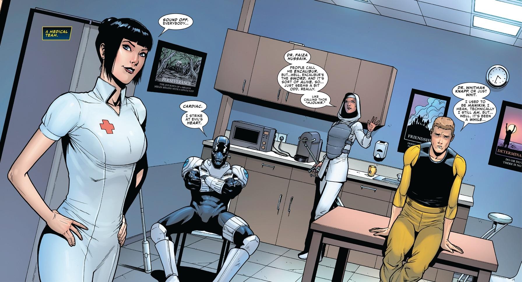 Marvel's Medics (Earth-616)/Gallery