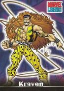 Sergei Kravinoff (Earth-616) from Marvel Legends (Trading Cards) 0001