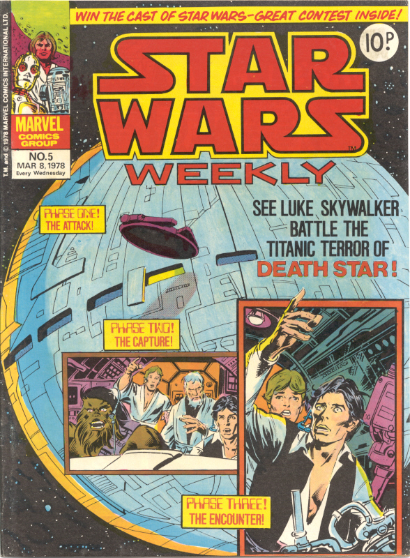 Star Wars Weekly (UK) Vol 1 5