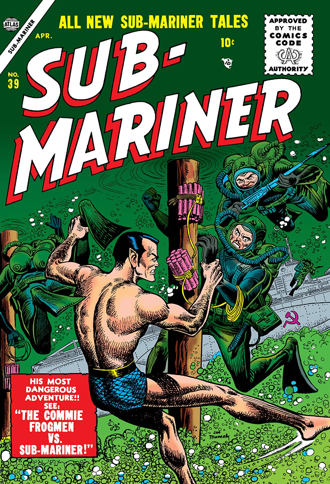 Sub-Mariner Comics Vol 1 39