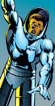 Turk Barrett (Earth-616) as Stilt Man from Daredevil Vol 1 186 (cut).JPG