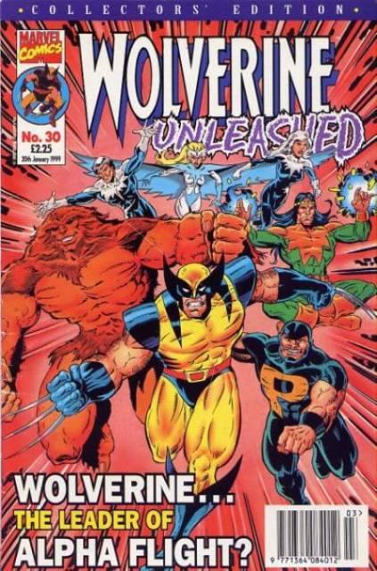 Wolverine Unleashed Vol 1 30