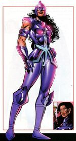 Zarda Shelton (Earth-712) from All-New Official Handbook of the Marvel Universe Update Vol 1 3 0001.jpg
