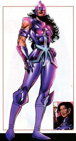 Zarda Shelton (Earth-712) from All-New Official Handbook of the Marvel Universe Update Vol 1 3 0001.jpg