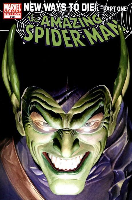Amazing Spider-Man Vol 1 568 Ross Variant.jpg