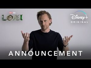 Announcement - Marvel Studios' Loki - Disney+