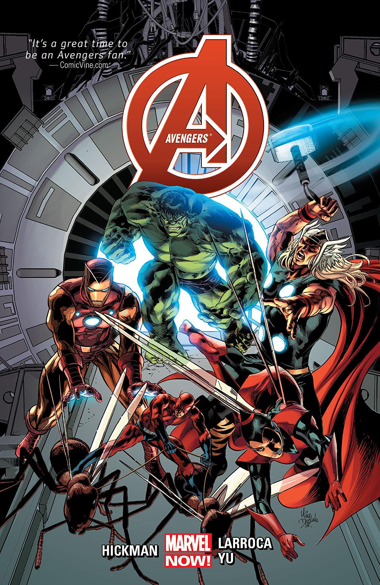Avengers by Jonathan Hickman Vol 1 3