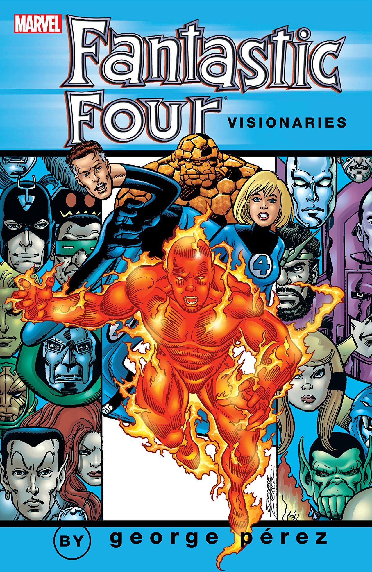 Fantastic Four Visionaries: George Perez TPB Vol 1 2