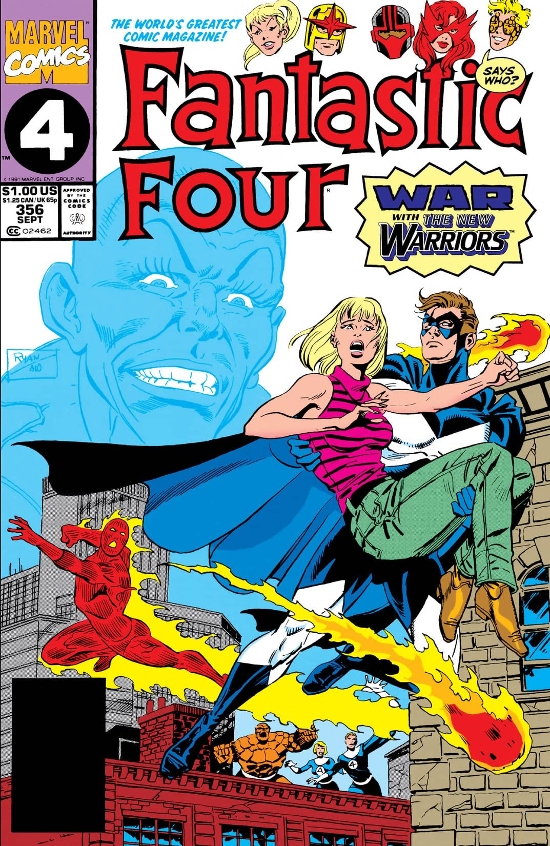 Fantastic Four Vol 1 356