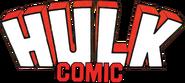 Hulk Comic (UK) Vol 1 Logo