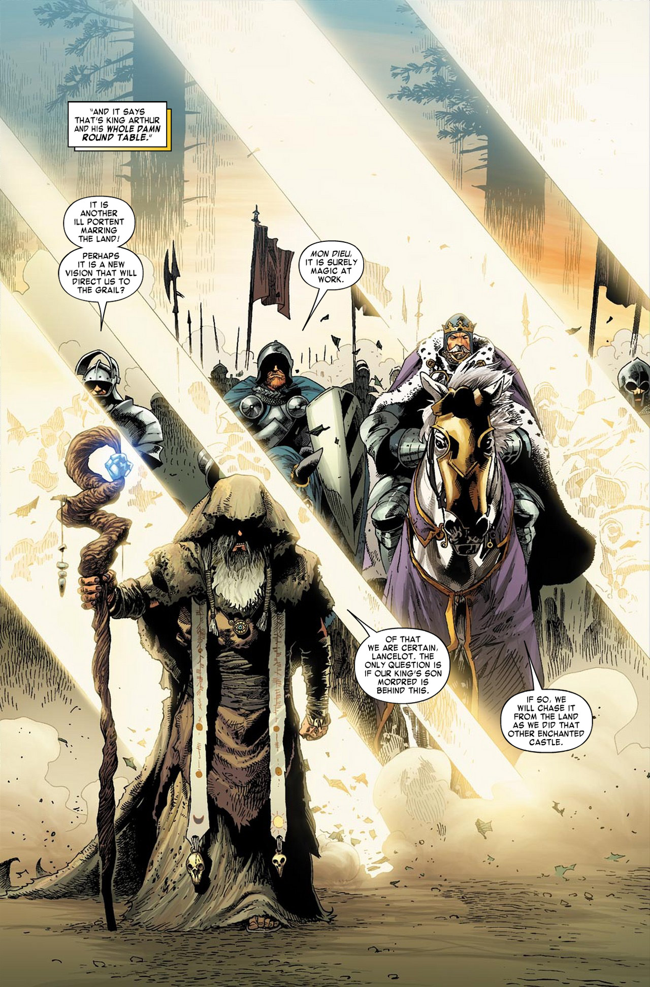 Knights of the Round Table (Earth-616)/Gallery