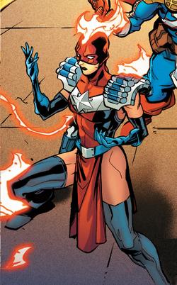 Laura Danvers (Warp World) (Earth-616) from Secret Warps Arachknight Annual Vol 1 1 0001.png