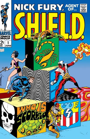 Nick Fury, Agent of SHIELD Vol 1 1.jpg