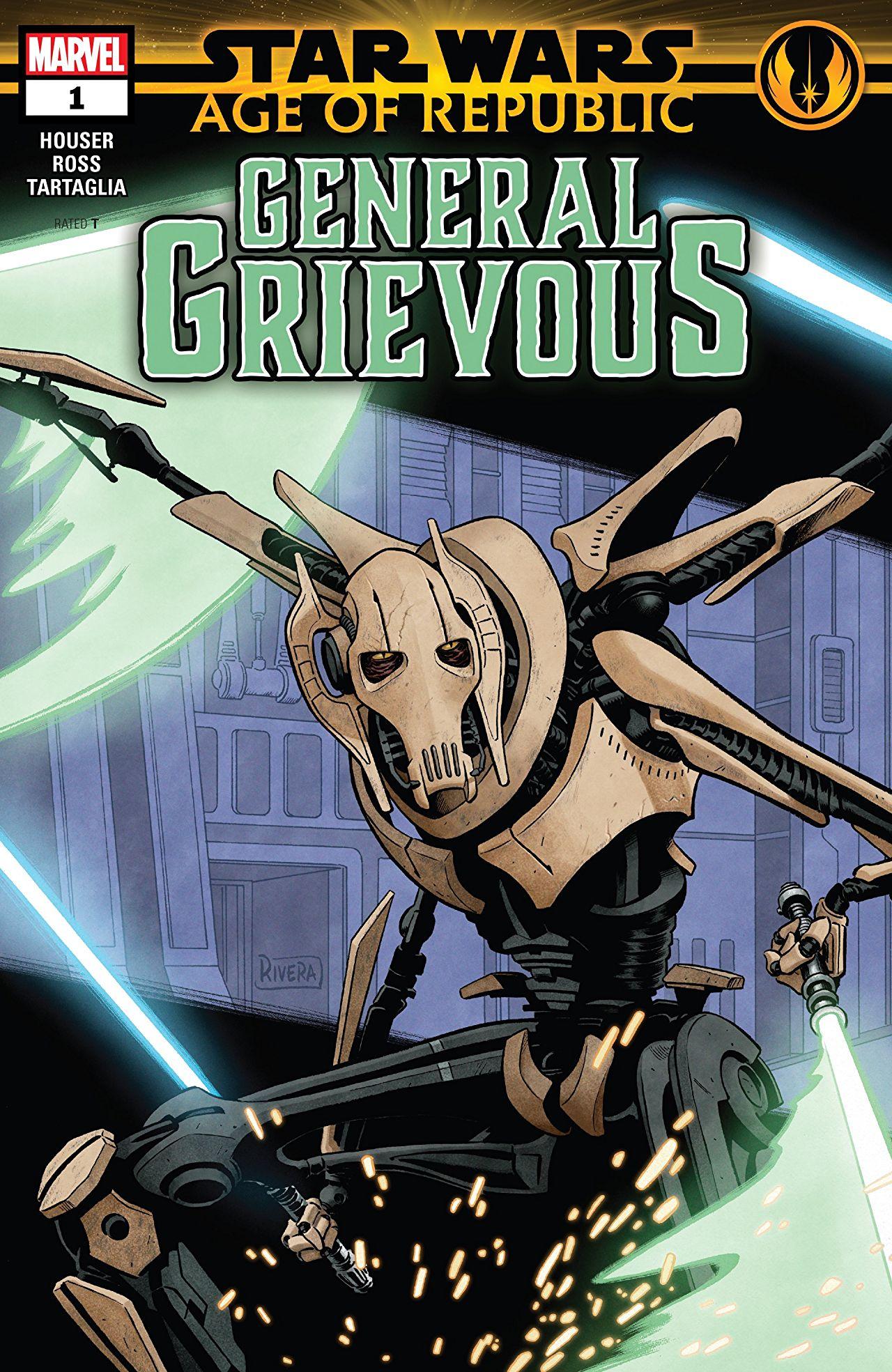 Star Wars: Age of Republic - General Grievous Vol 1 1