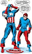 Steven Rogers (Earth-616) and Richard Jones (Earth-616) from Captain America Vol 1 110 001