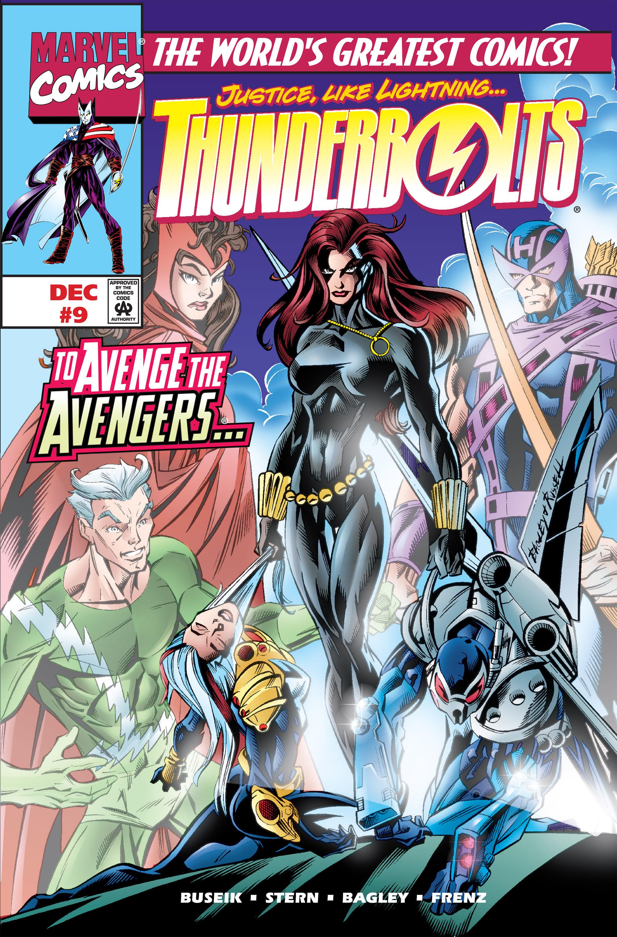 Thunderbolts Vol 1 9