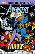 True Believers Avengers - Thanos The Final Battle! Vol 1 1