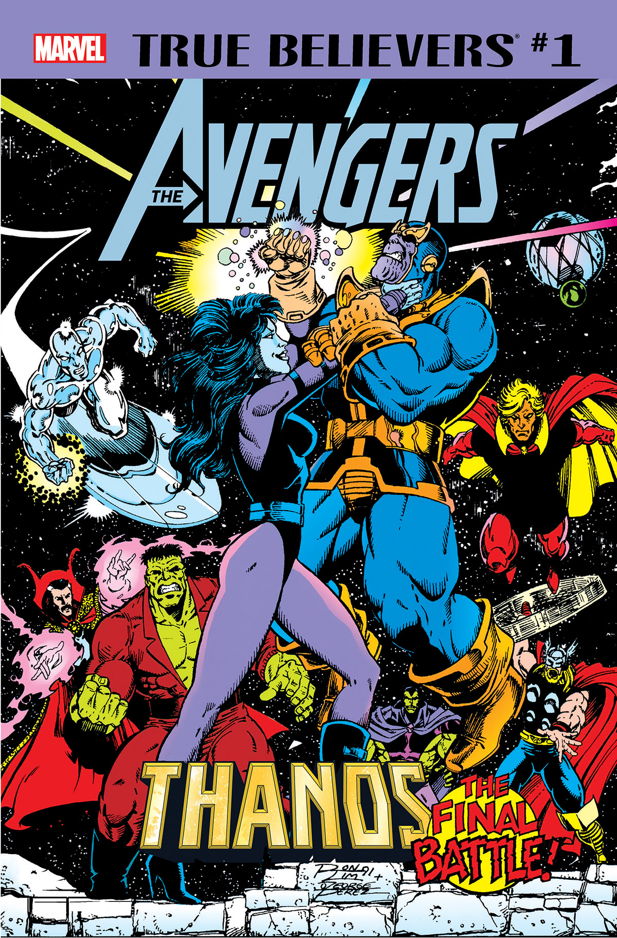 True Believers: Avengers - Thanos: The Final Battle! Vol 1 1