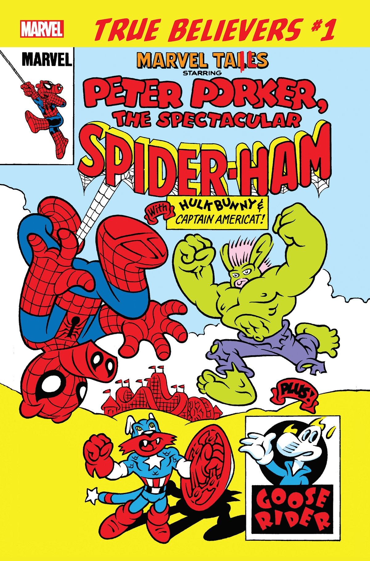 True Believers: Marvel Tails Starring Peter Porker, The Spectacular Spider-Ham Vol 1 1