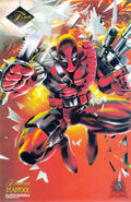 Wade Wilson (Earth-616) from Marvel Annual Flair (Trading Cards) 1994 Set 001