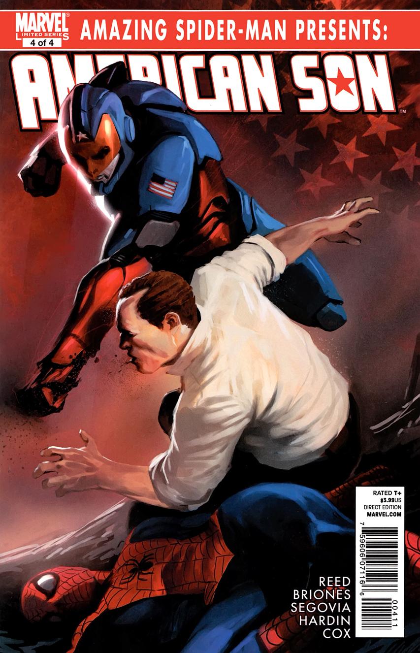 Amazing Spider-Man Presents: American Son Vol 1 4