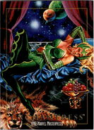Amora (Earth-616) from Marvel Masterpieces Trading Cards 1992 0001