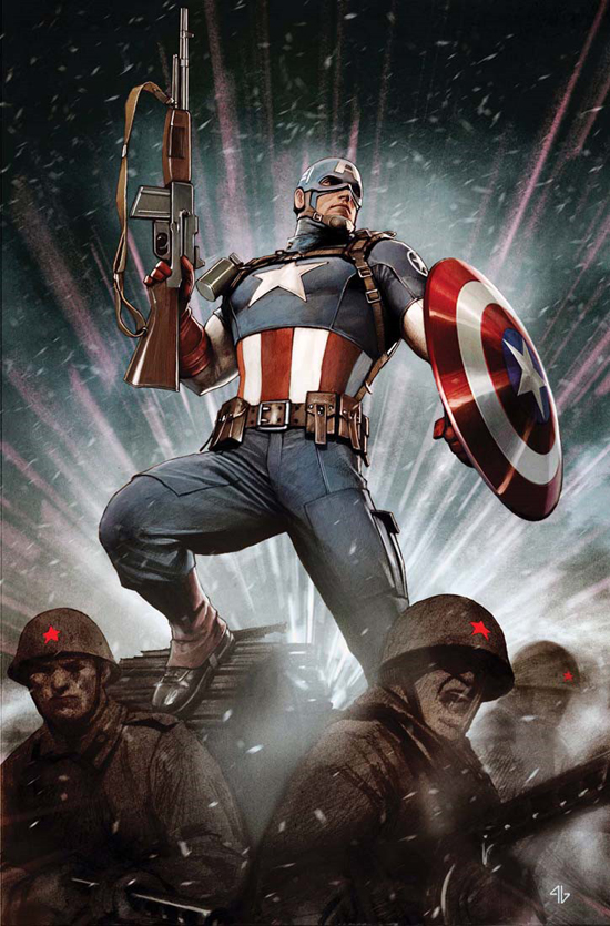 Astonishing Captain America Vol 1 1